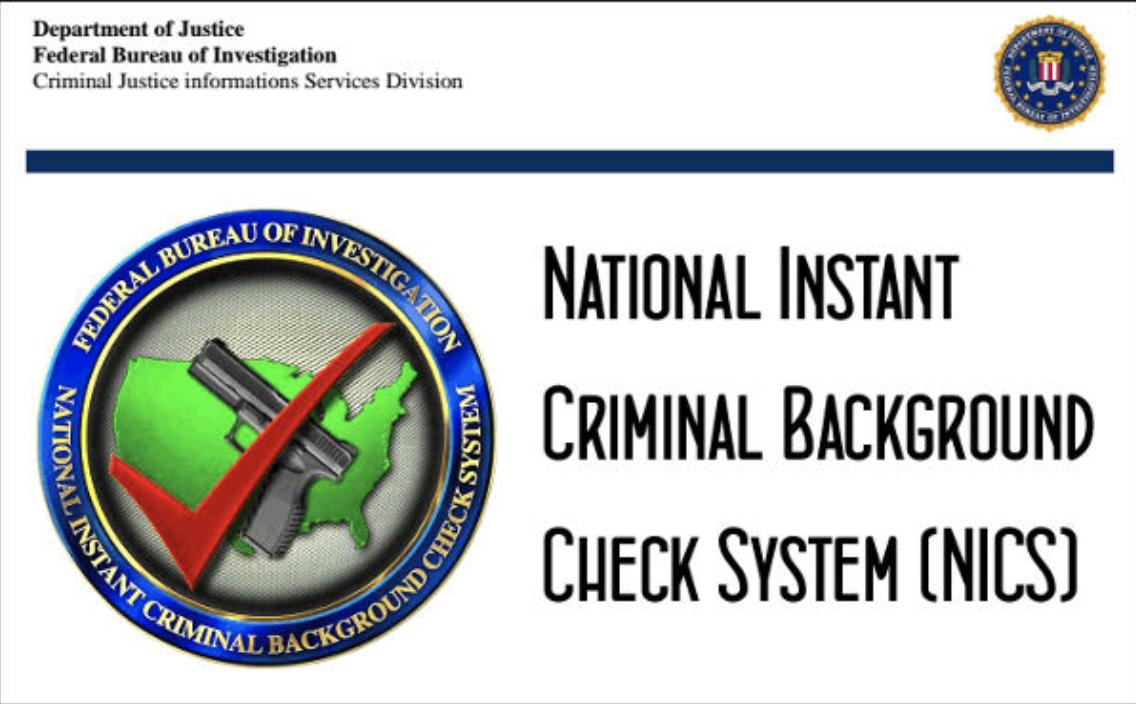 Image result for Instant Criminal Background Check System (NICS)