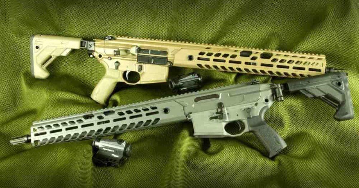 Sig Sauer Mcx Virtus A Carbine Built For Shooting Sports Retailer